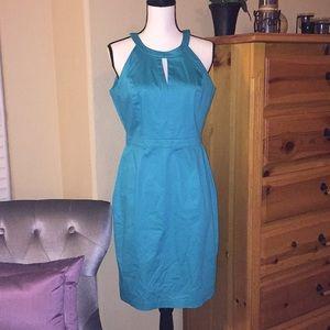 👗 Calvin Klein Turquoise Dress
